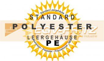 Standard PE Polyester Leergehäuse